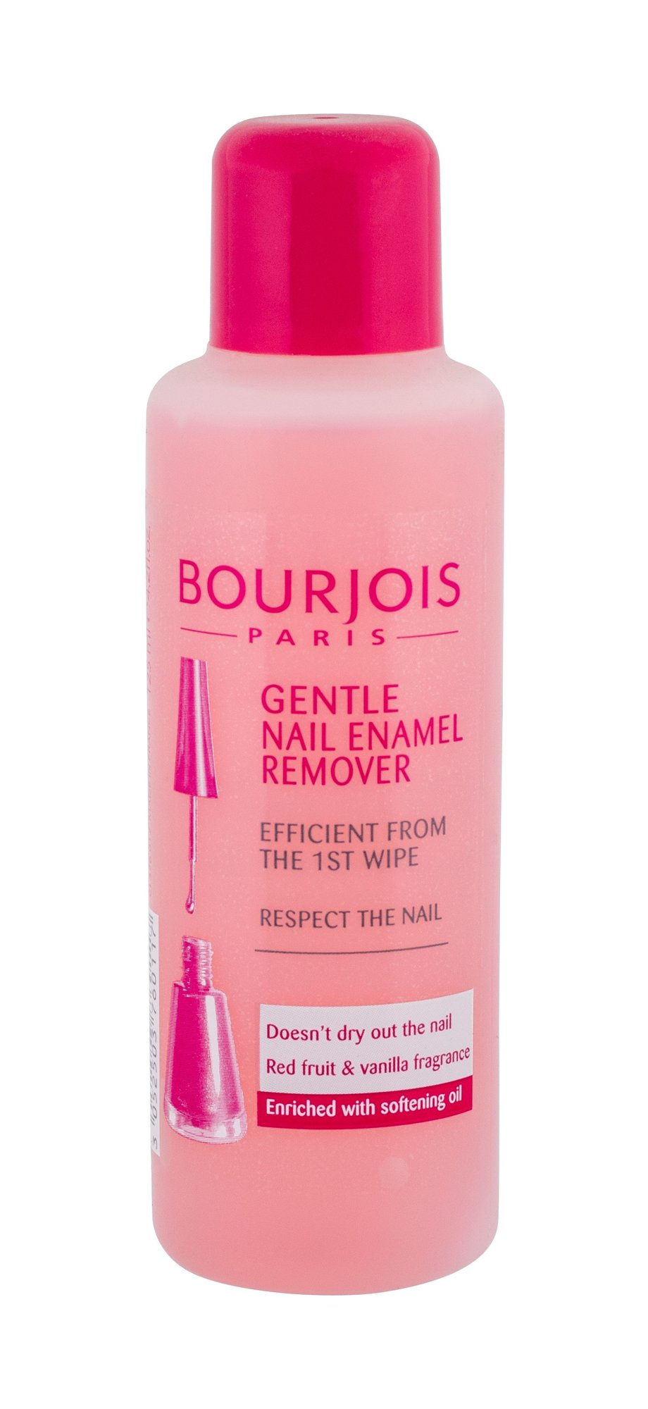 BOURJOIS Paris Gentle Nail Enamel Remover Cosmetic 125ml