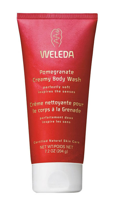 Weleda Pomegranate Creamy Body Wash Cosmetic 200ml