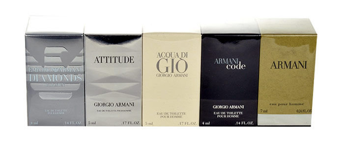 Giorgio Armani Mini Set 3 EDT 25ml