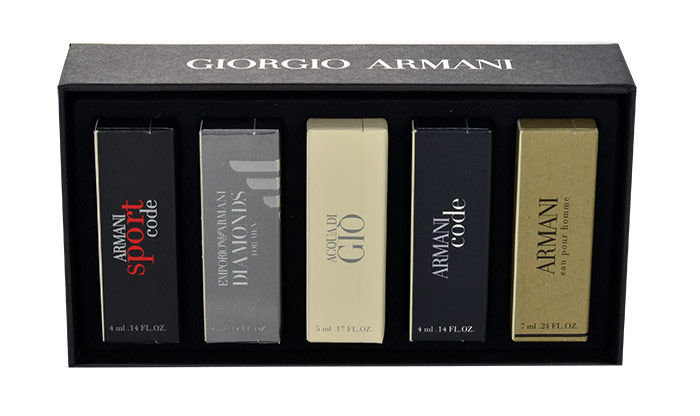 Giorgio Armani Mini Set 5 EDT 24ml
