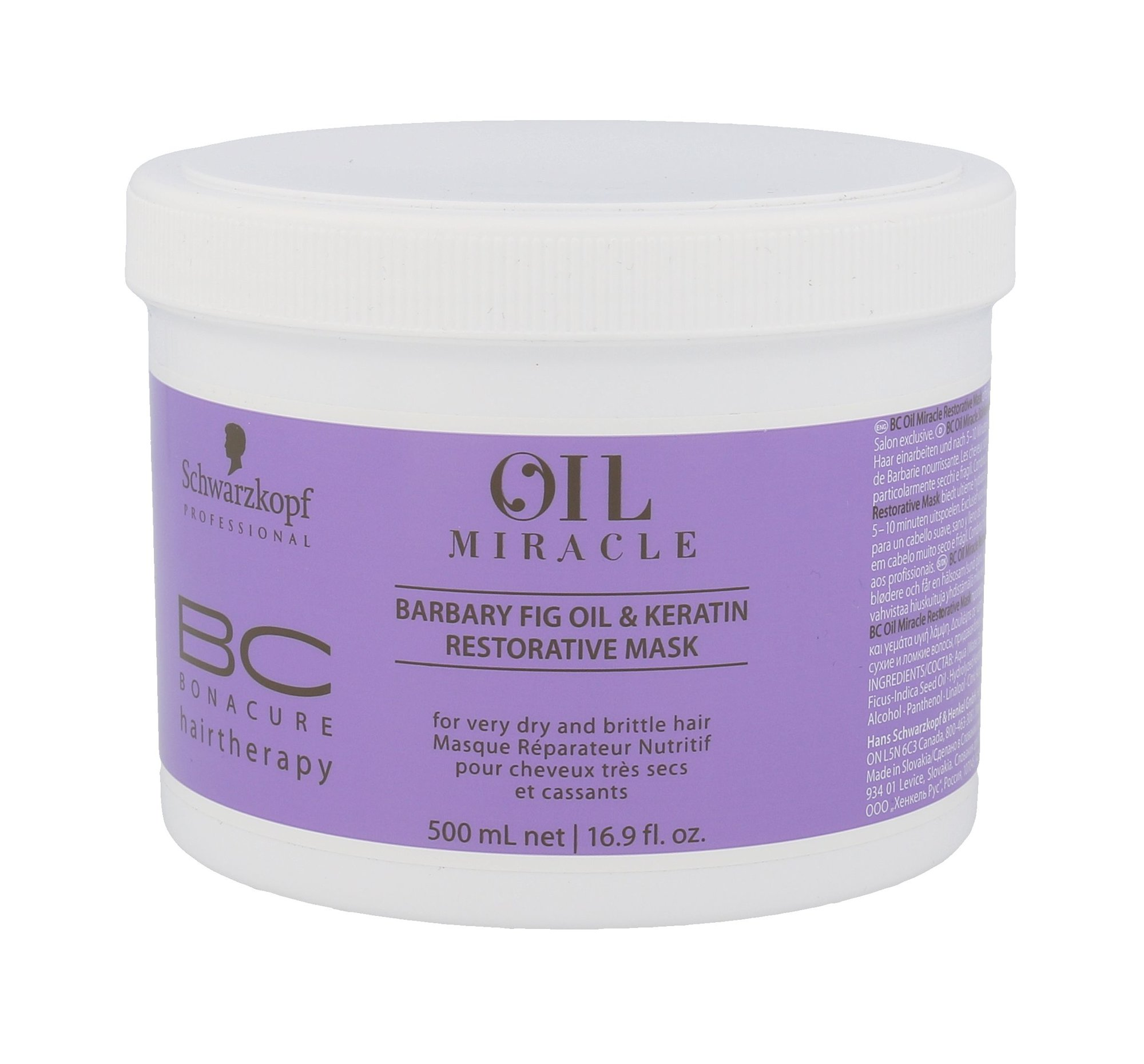 Schwarzkopf BC Bonacure Oil Miracle Cosmetic 500ml