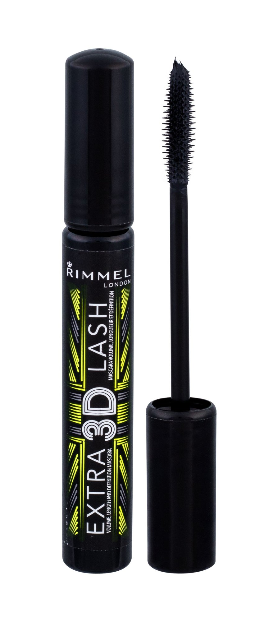 Rimmel London Mascara Extra 3D Lash Cosmetic 8ml 003 Extreme Black