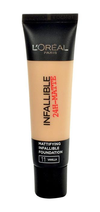 L´Oreal Paris Infallible 24H-Matte Foundation Cosmetic 35ml 11 Vanilla