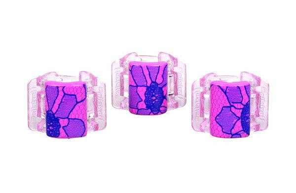 Linziclip Mini Hair Clip Cosmetic 1ks Pink Lace