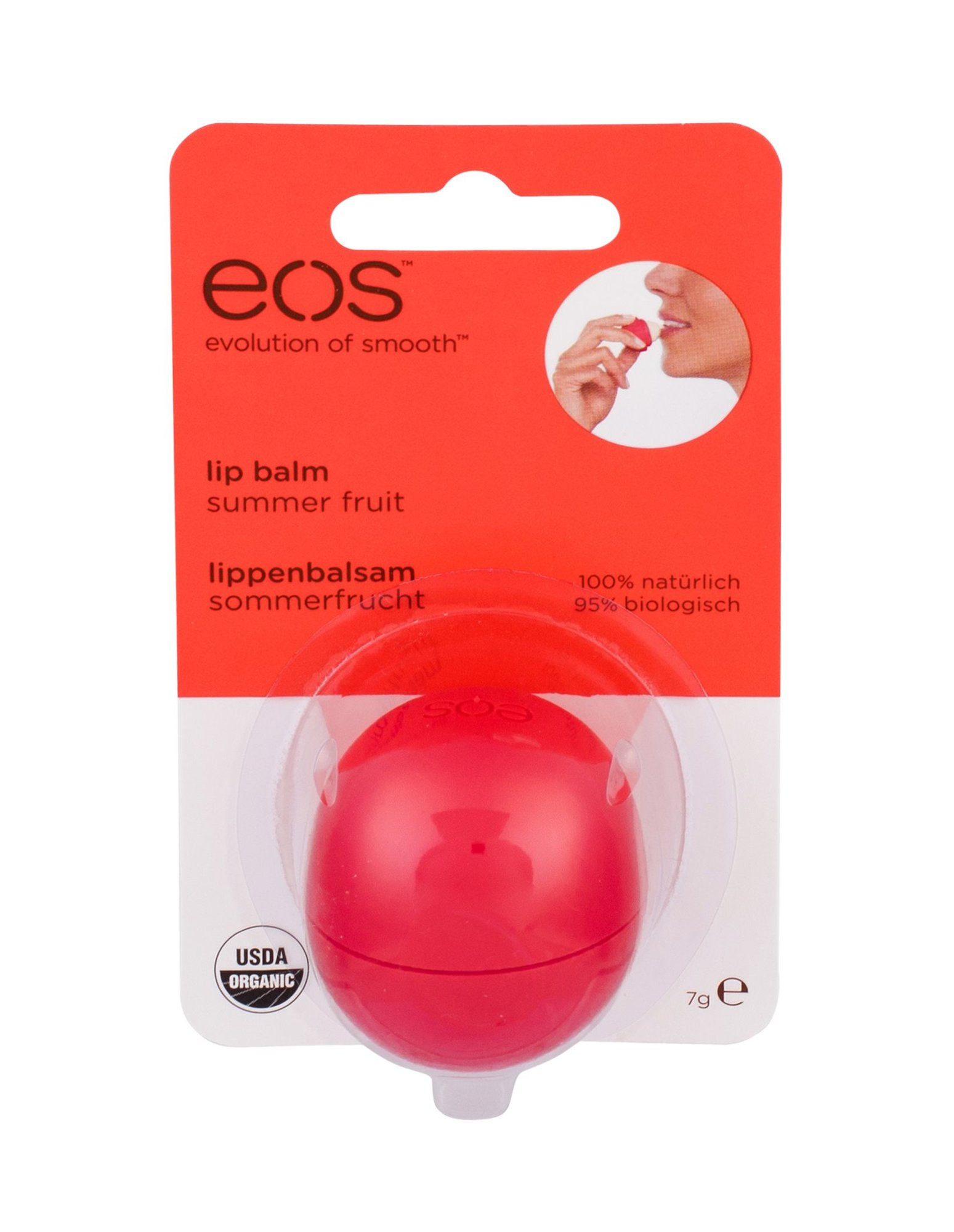 EOS Lip Balm Cosmetic 7ml Summer Fruit