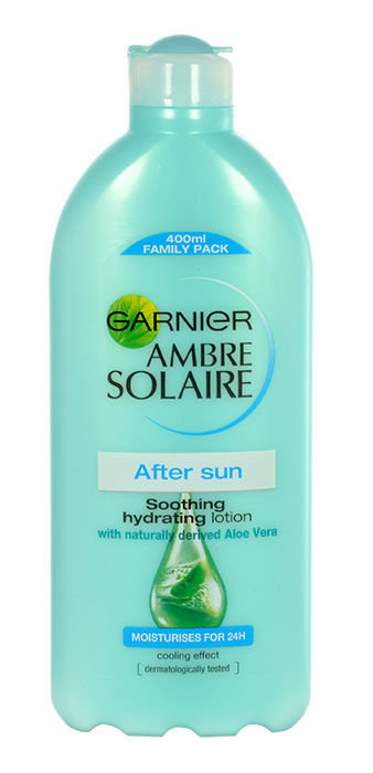 Garnier Ambre Solaire After Sun Soothing Hydrating Lotion Cosmetic 400ml