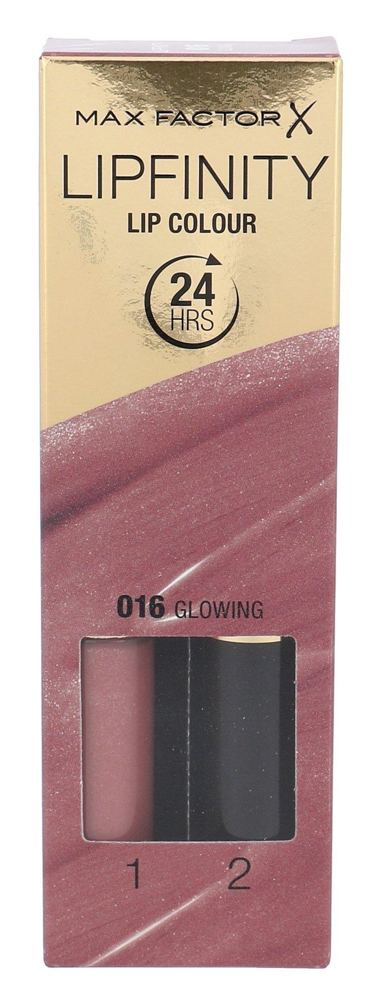 Max Factor Lipfinity Cosmetic 4,2ml 016 Glowing