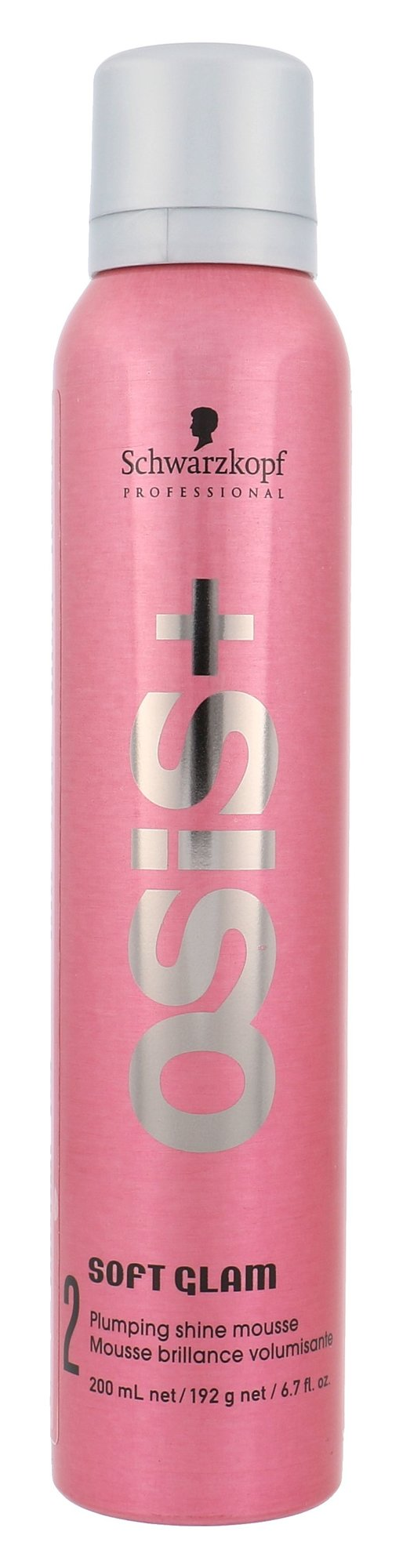 Schwarzkopf Osis+ Soft Glam Plumping Shine Mousse Cosmetic 200ml