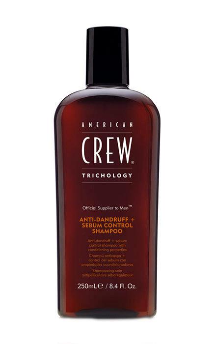 American Crew Trichology Cosmetic 250ml  Anti-Dandruff + Sebum Control