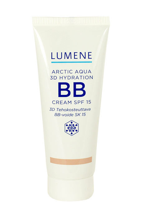 Lumene Arctic Aqua Cosmetic 40ml Light Medium 3D Hydration SPF15