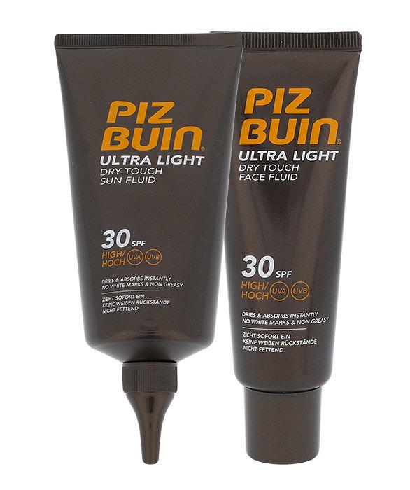 Piz Buin Ultra Light Dry Touch Sun Fluid SPF30 Kit Cosmetic 200ml
