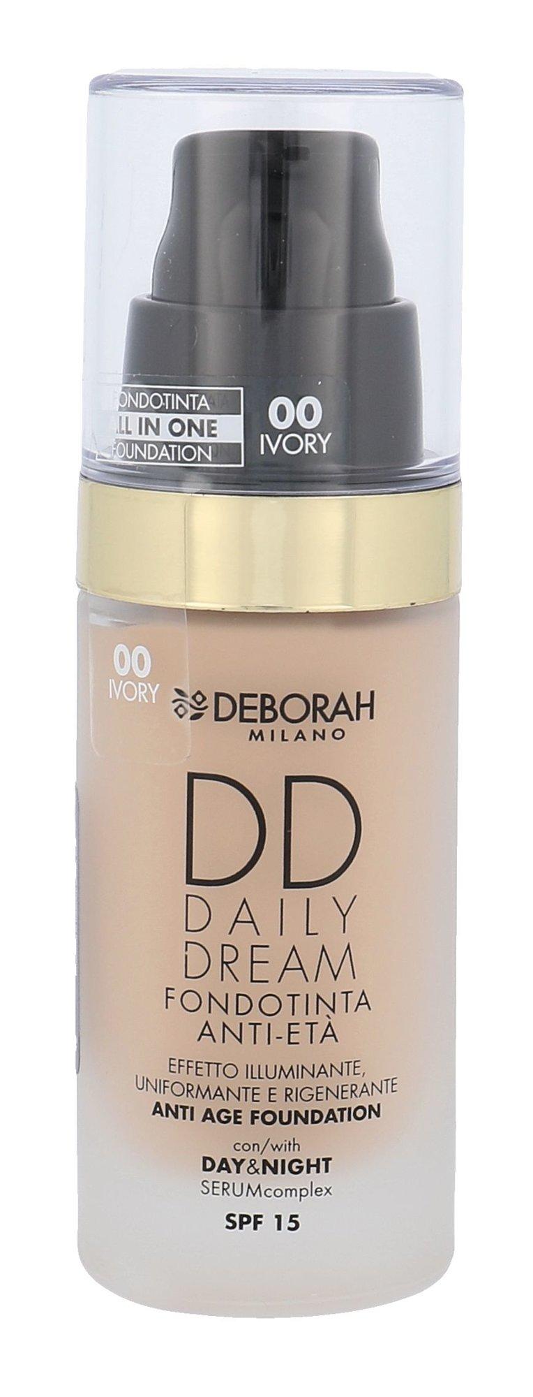 Deborah Milano DD Daily Dream Cosmetic 30ml 00 Ivory