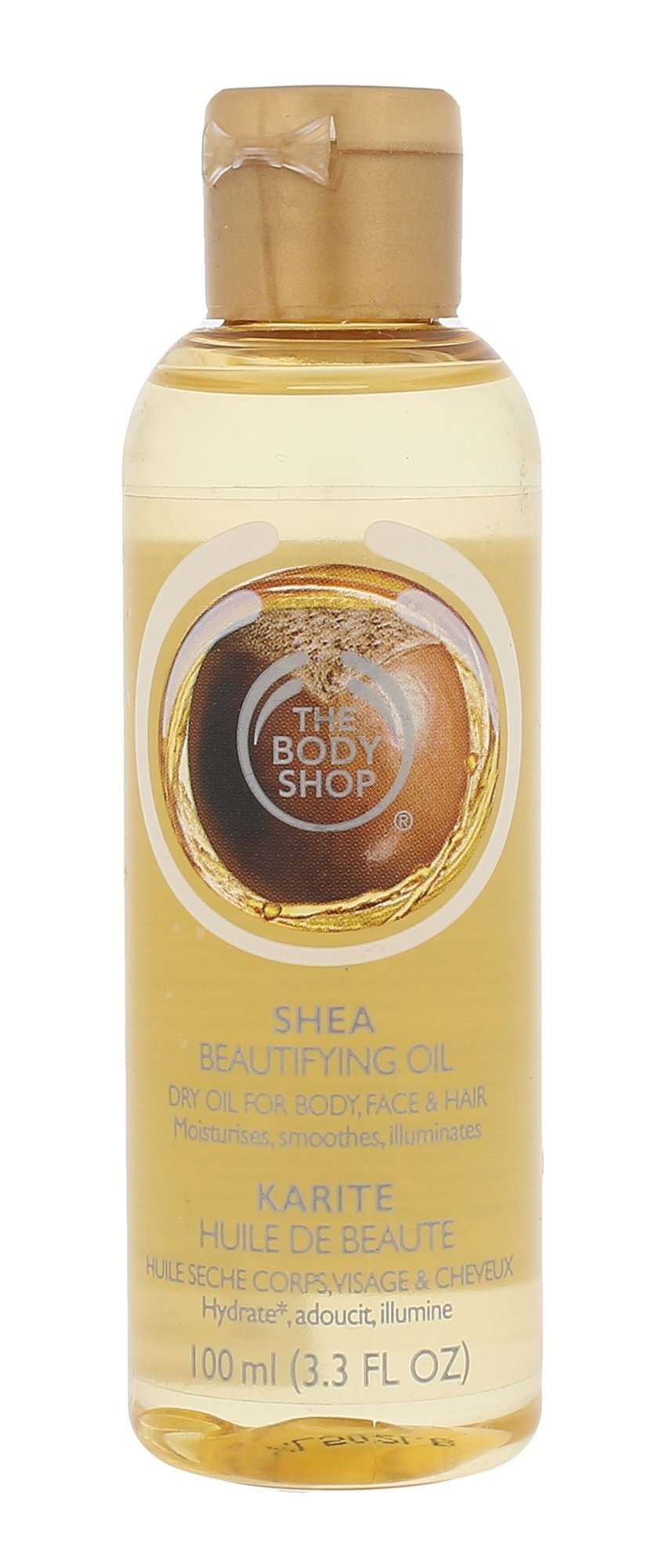 The Body Shop Shea Cosmetic 100ml  Beautifying Oil