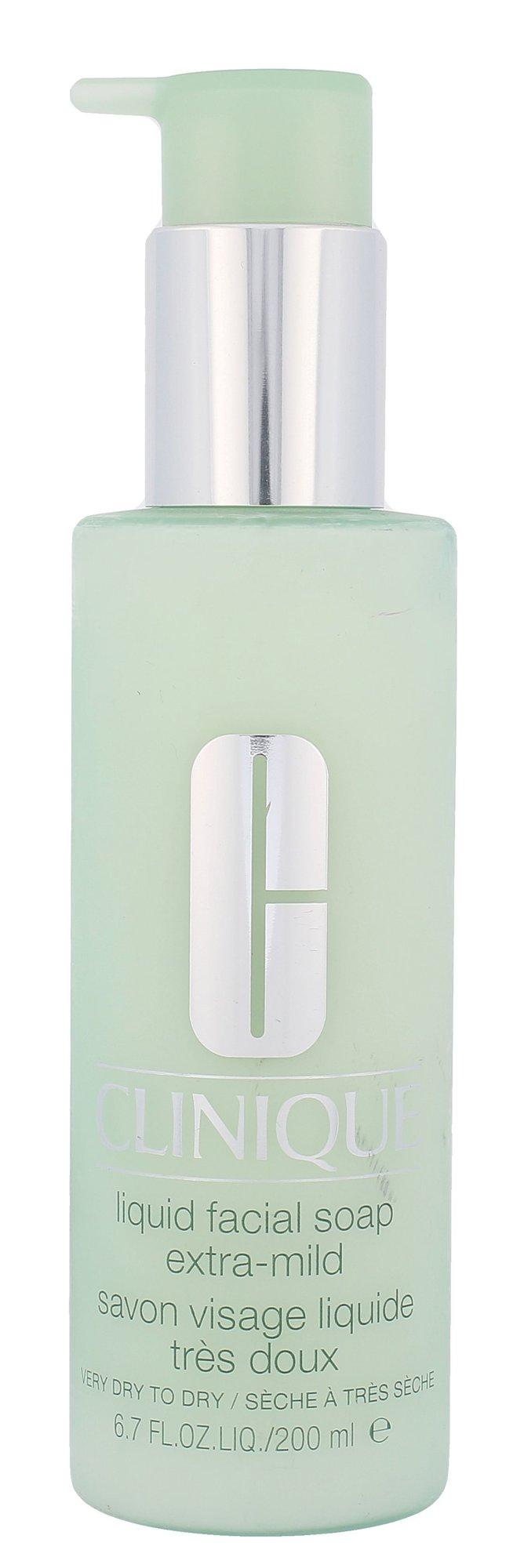 Clinique Liquid Facial Soap Extra Mild Cosmetic 200ml