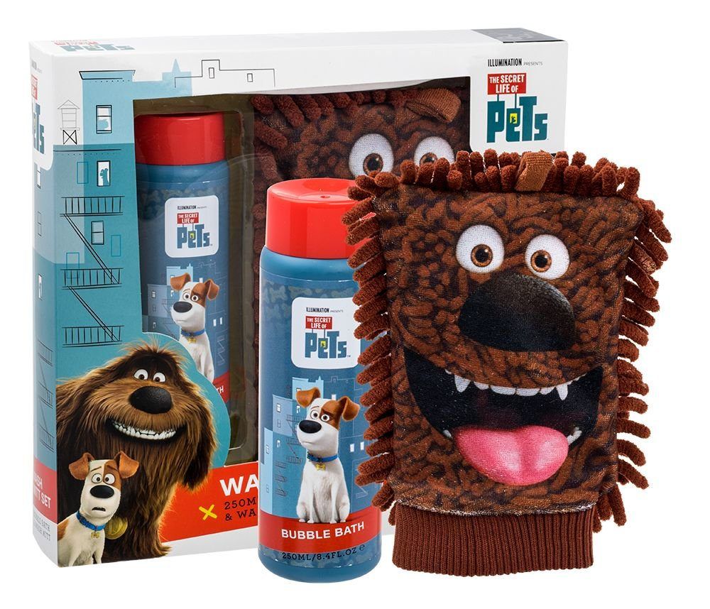 Universal The Secret Life Of Pets Wash Mitt Kit Cosmetic 250ml