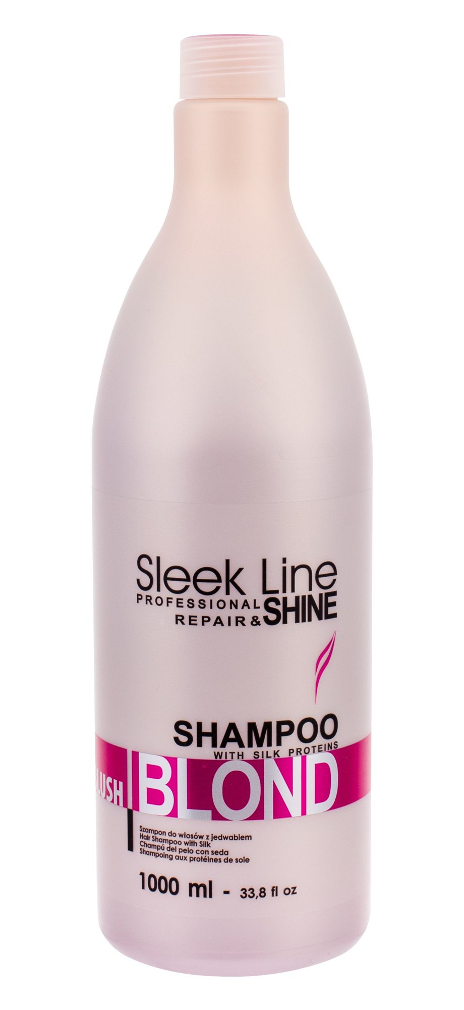 Stapiz Sleek Line Blush Blond Shampoo Cosmetic 1000ml