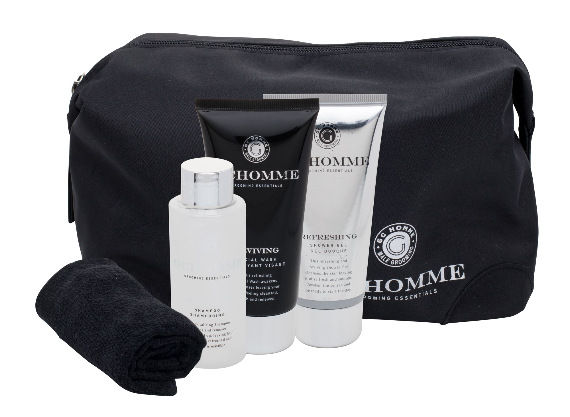 Grace Cole Homme Ultimate Black Pepper Bath Kit Cosmetic 100ml