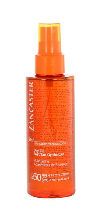 Lancaster Sun Beauty Dry Oil Fast Tan Optimizer SPF50 Cosmetic 150ml