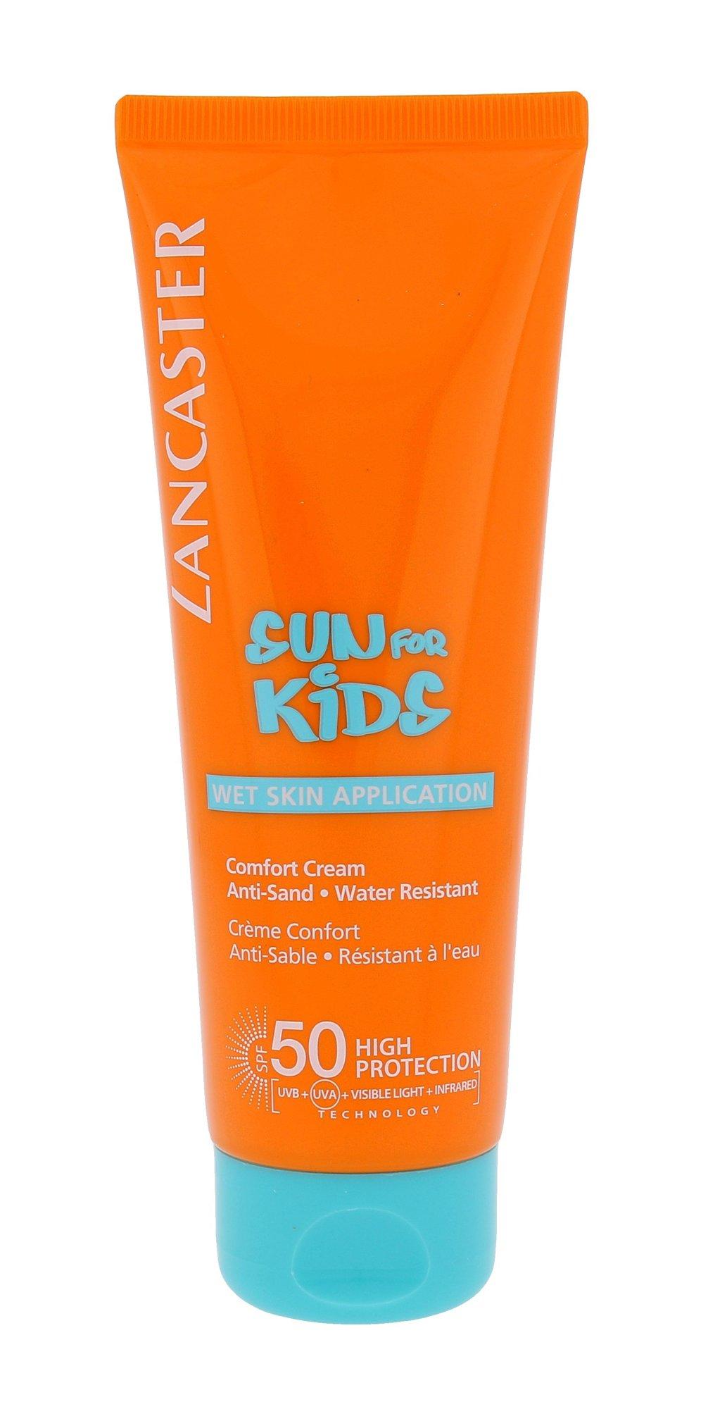 Lancaster Sun For Kids Comfort Cream Water Resistant SPF50 Cosmetic 125ml