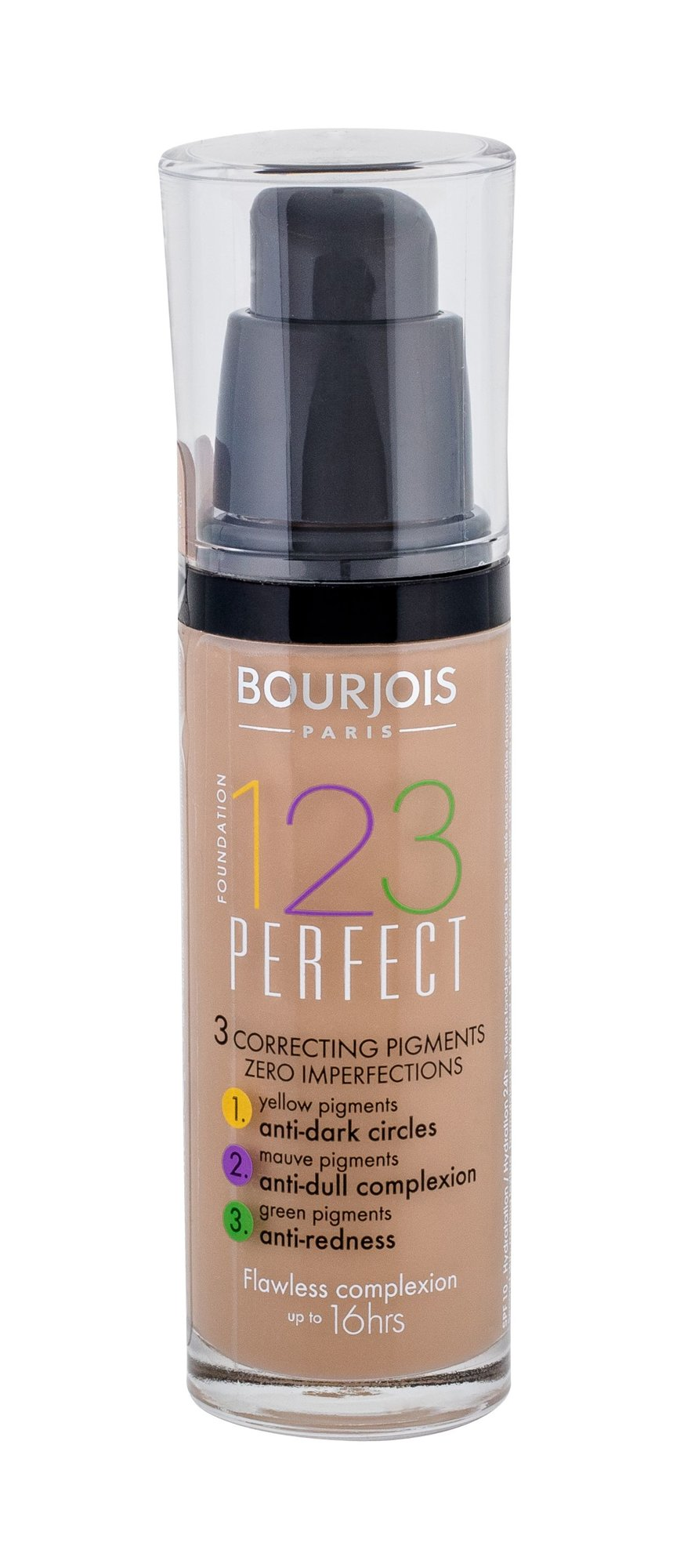 BOURJOIS Paris 123 Perfect Cosmetic 30ml 55 Dark Beige
