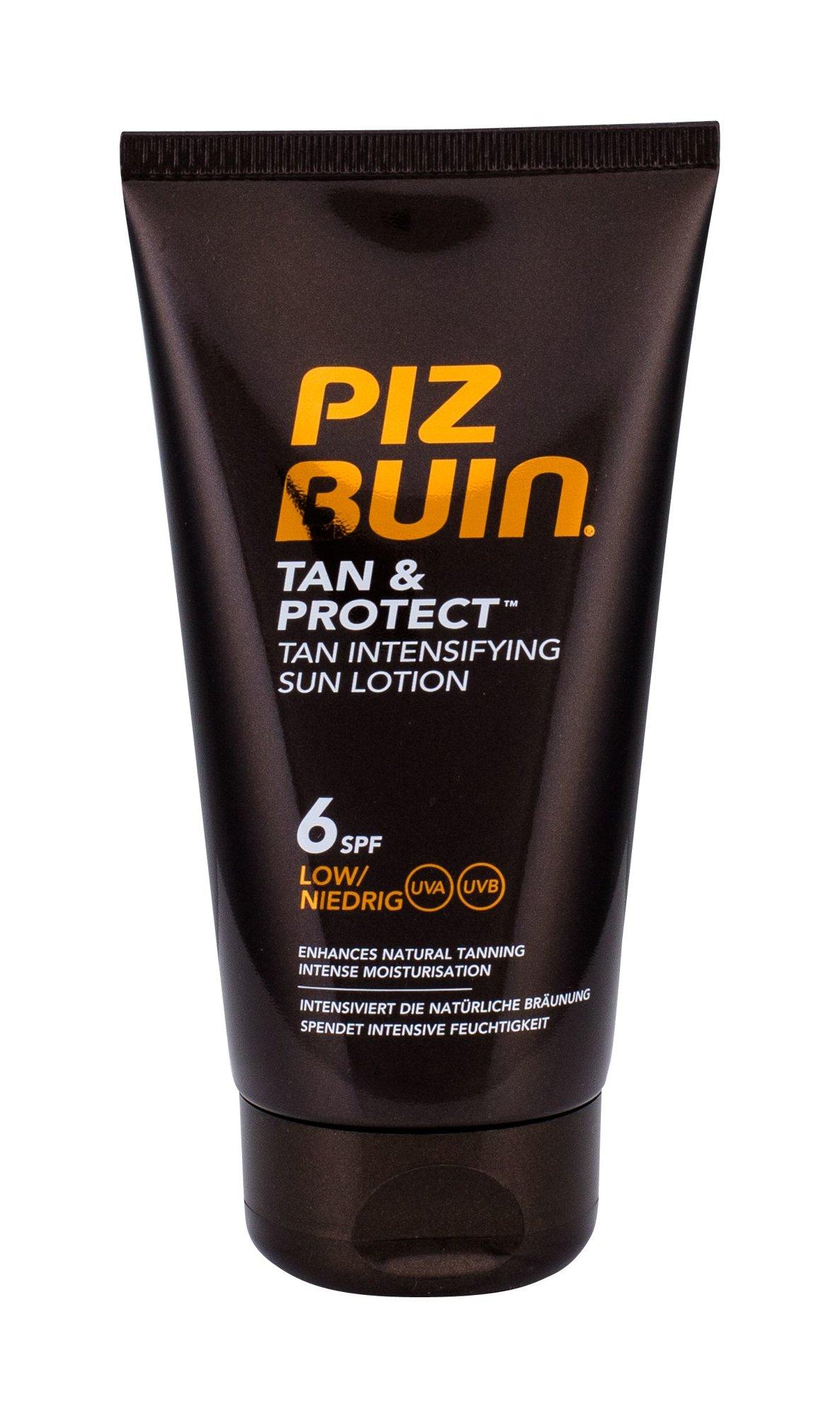Apsaugai nuo saulės Piz Buin Tan & Protect Tan Intensifying Sun Lotion SPF6