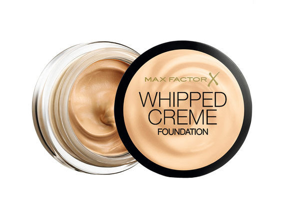 Max Factor Whipped Creme Cosmetic 18ml 77 Soft Honey