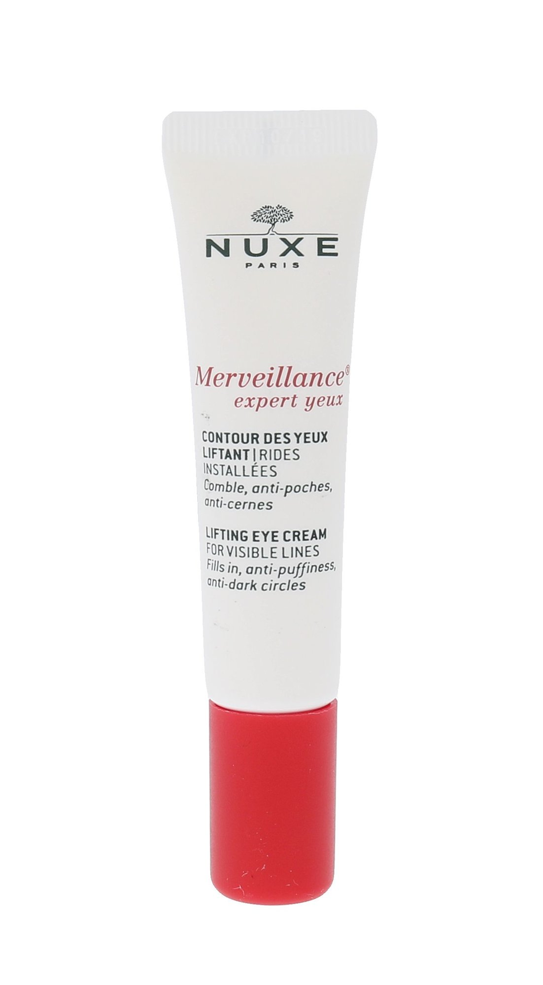 NUXE Merveillance Cosmetic 15ml  Lifting Eye Cream For Visible Lines