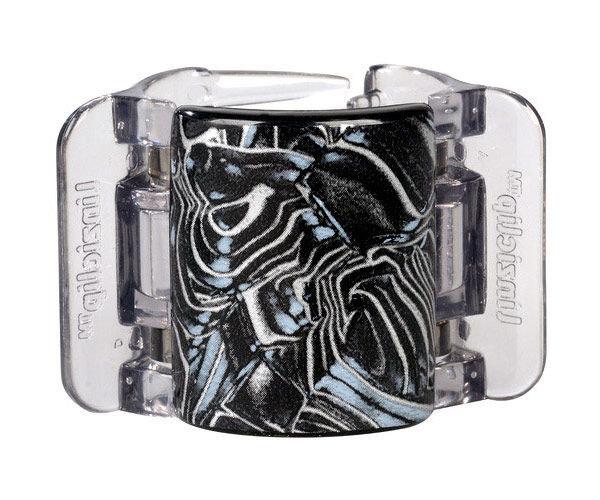 Linziclip Midi Cosmetic 1ml Black Swirl
