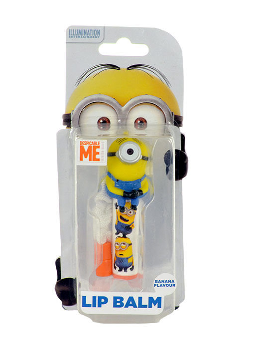 Minions Lip Balm Cosmetic 4,5ml Banana