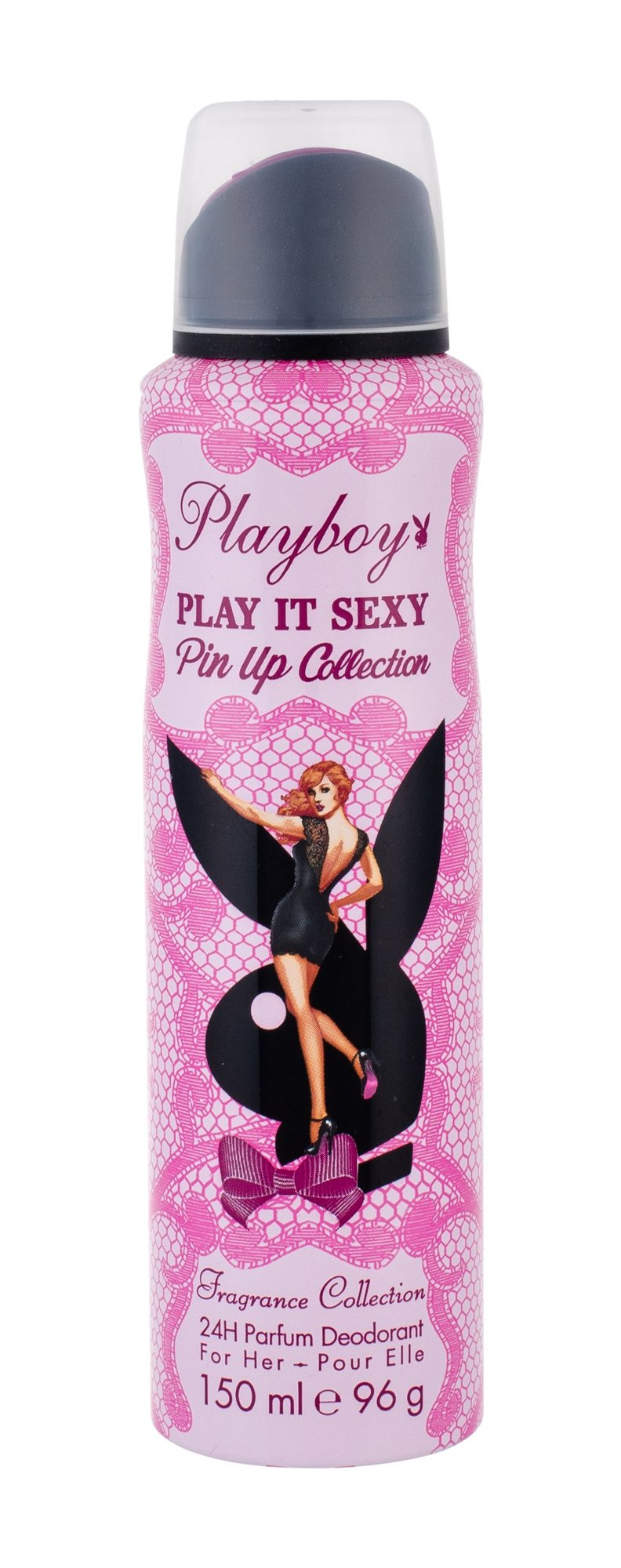 Playboy Play It Sexy Pin Up For Her Deodorant 150ml