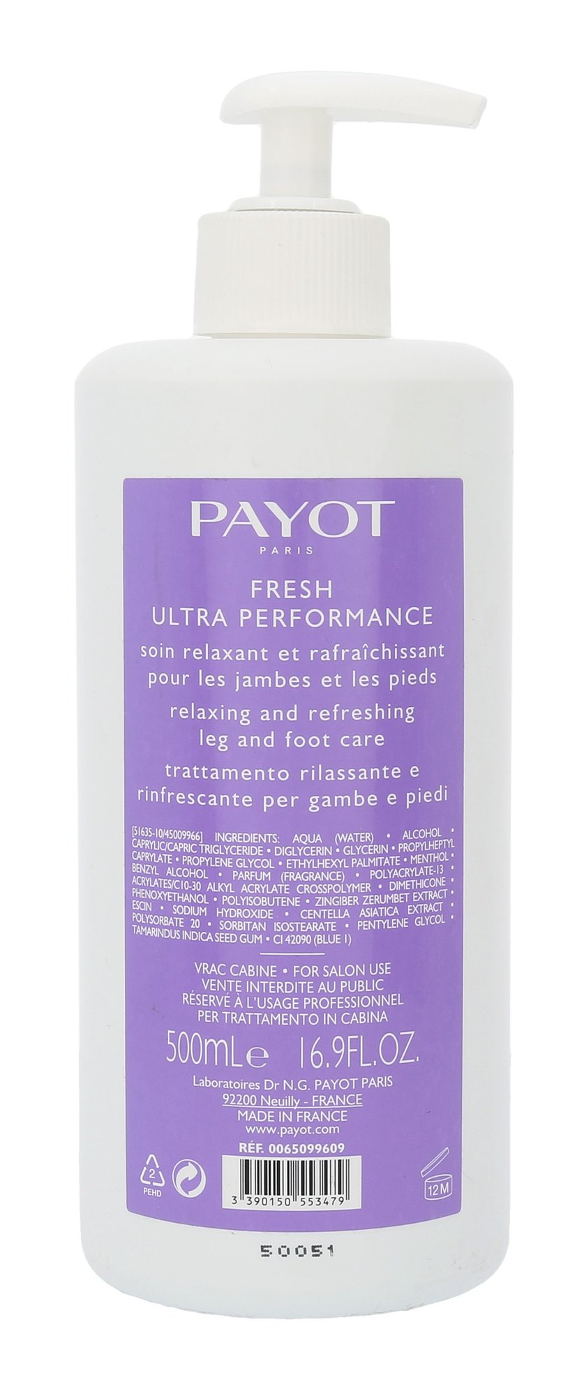 PAYOT Le Corps Cosmetic 500ml