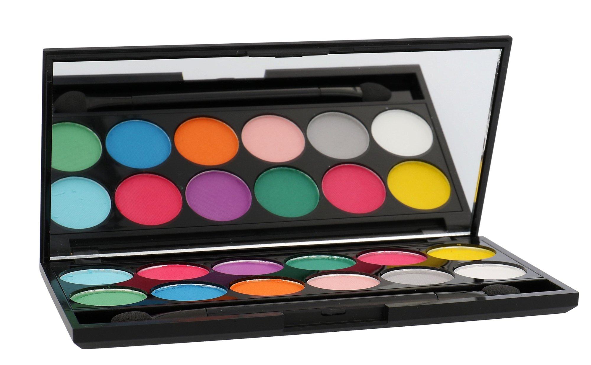 Sleek MakeUP I-Divine Cosmetic 13,2ml 730 Ultra Mattes V1 Brights Eyeshadow Palette