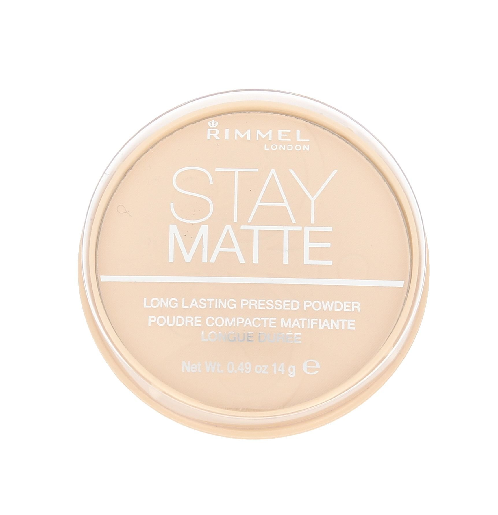Rimmel London Stay Matte Cosmetic 14ml 001 Transparent