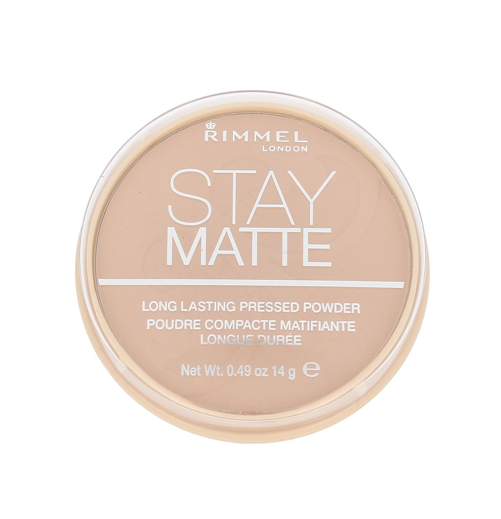 Rimmel London Stay Matte Cosmetic 14ml 004 Sandstorm