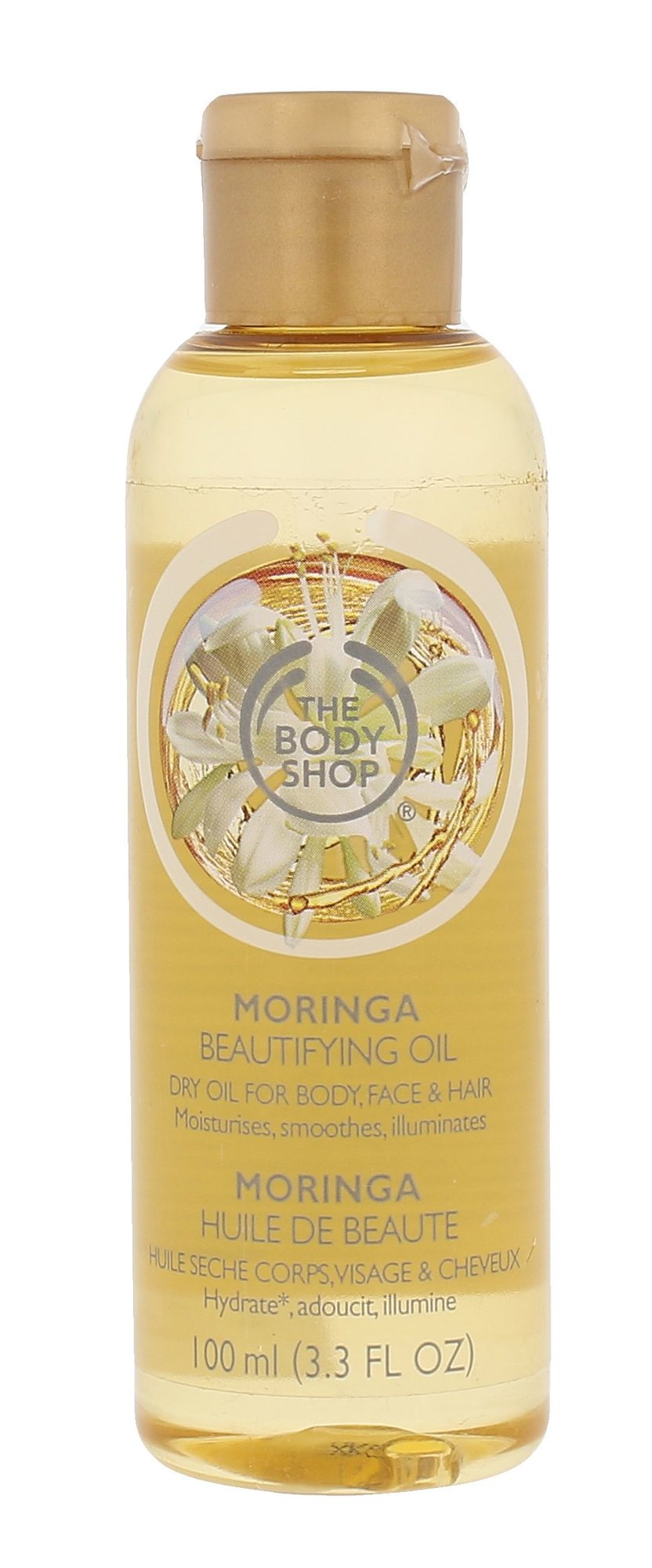 The Body Shop Moringa Cosmetic 100ml  Beautifying Oil