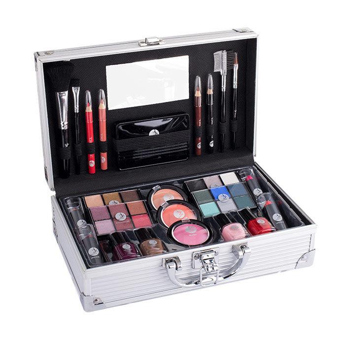 2K Fabulous Beauty Train Case Cosmetic 66,9ml
