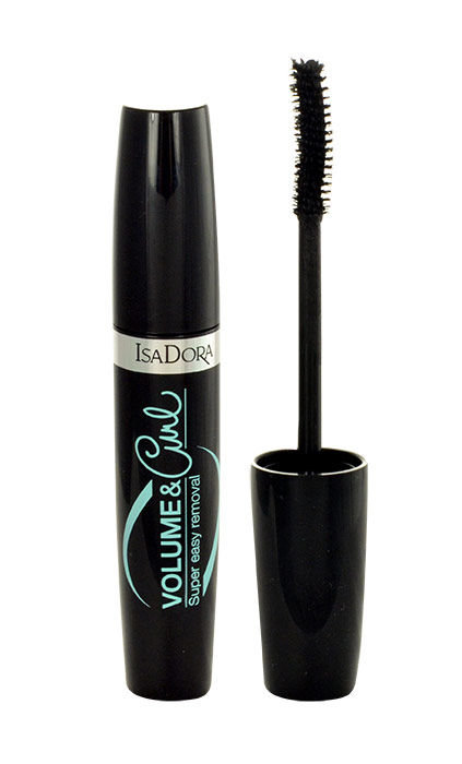 IsaDora Volume & Curl Cosmetic 12ml 10 Black