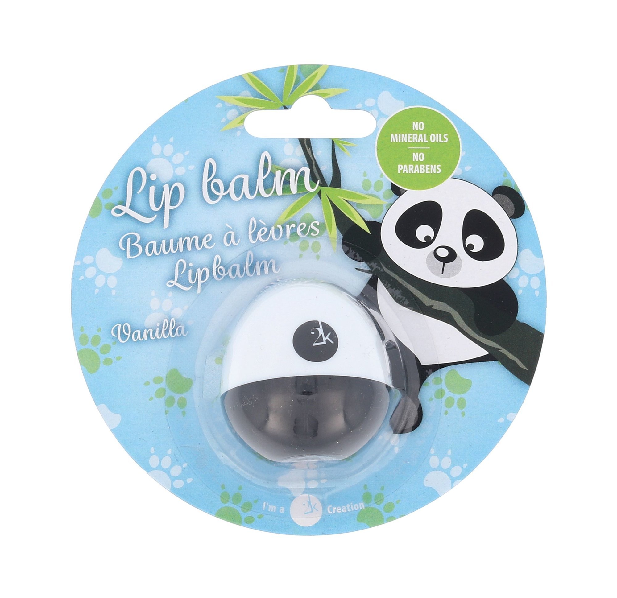 2K Animal Lip Balm Cosmetic 11ml Vanilla