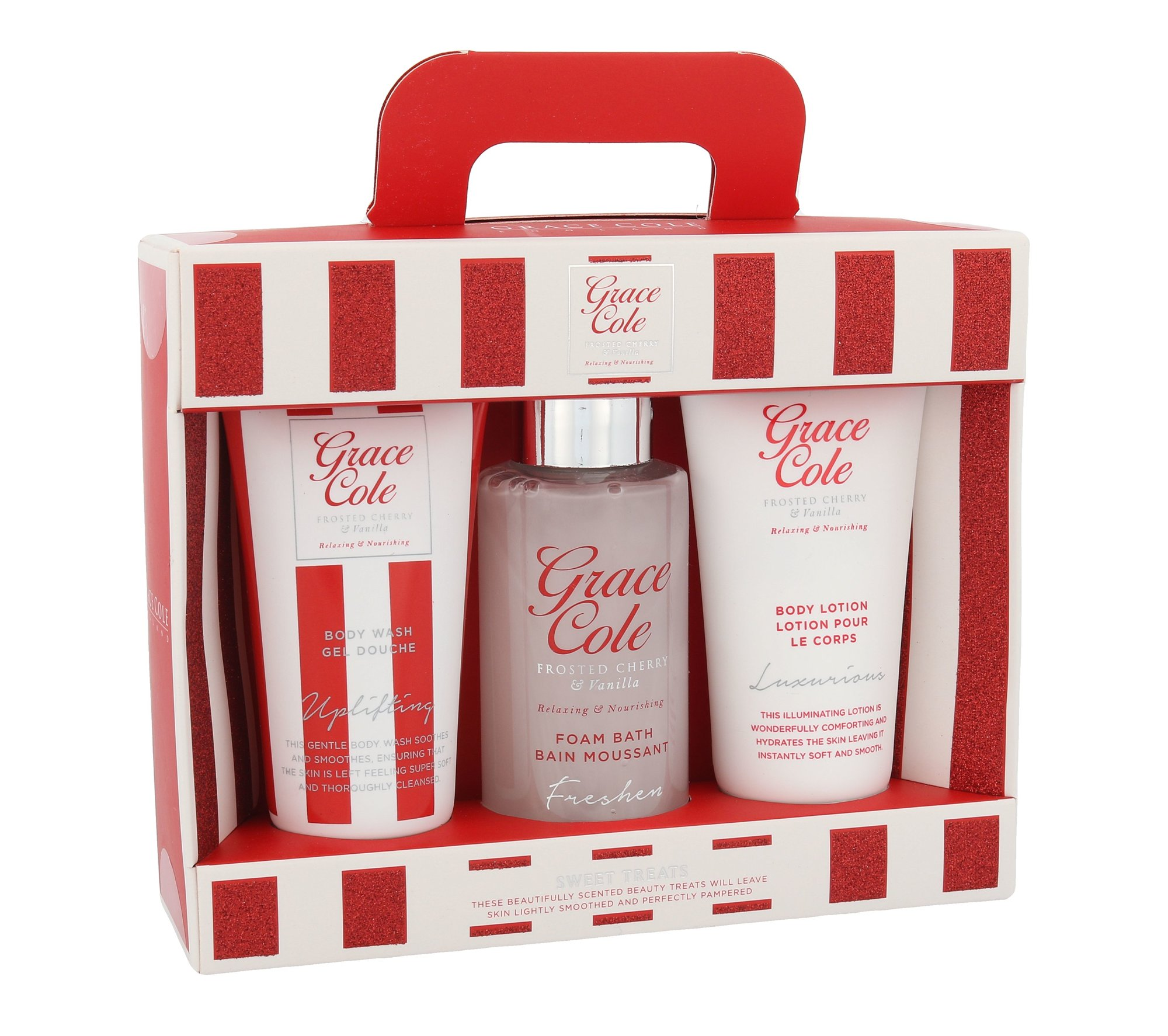 Grace Cole Frosted Cherry & Vanilla Sweet Treats Cosmetic 50ml