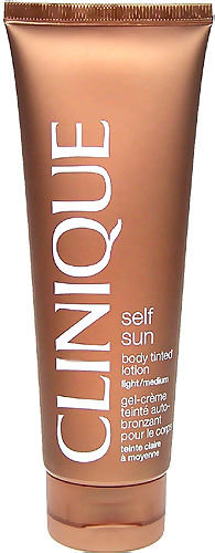 Clinique Self Sun Cosmetic 125ml Light/Medium Body Tinted Lotion