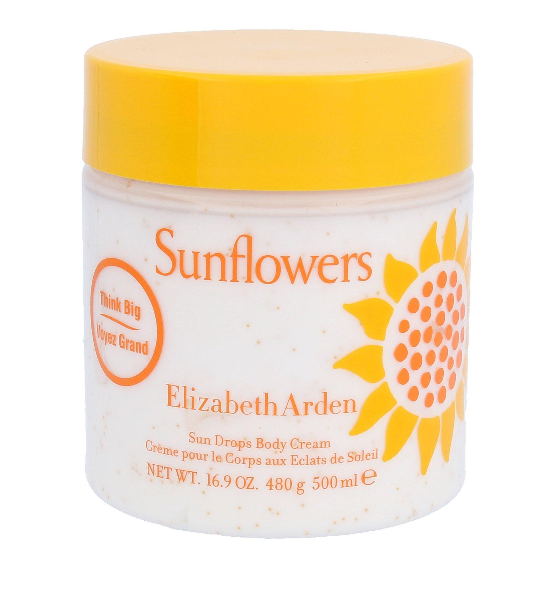 Kūno kremai ir kūno losijonai Elizabeth Arden Sunflowers