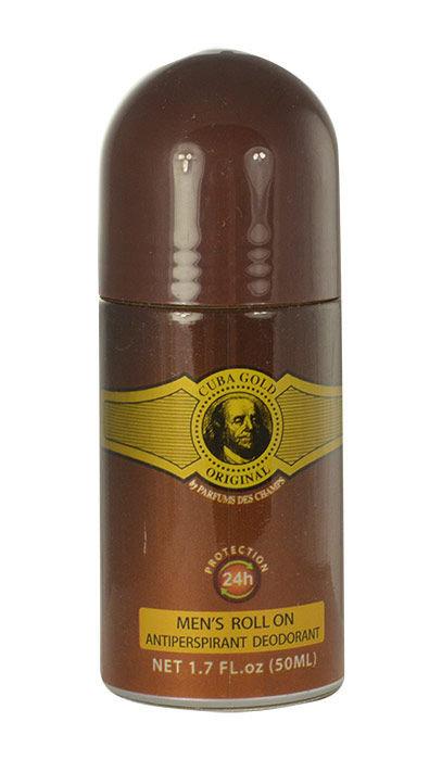 Cuba Gold Deo Rollon 50ml