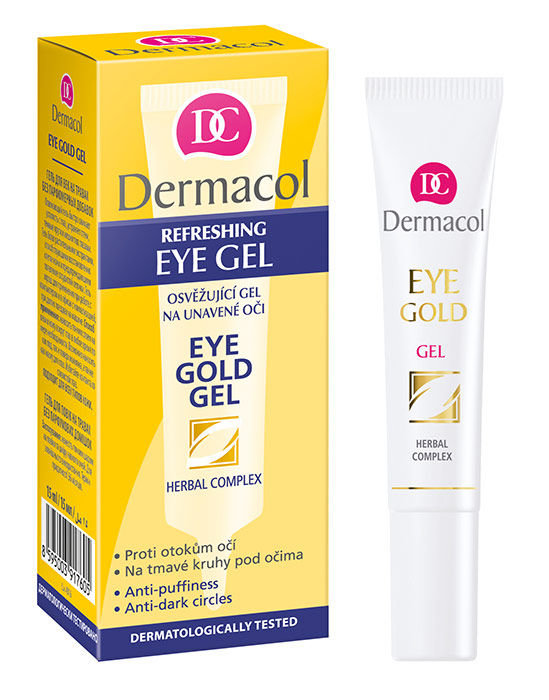 Dermacol Eye Gold Cosmetic 15ml