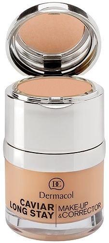 Kreminė pudra Dermacol Caviar Long Stay Make-Up & Corrector 1