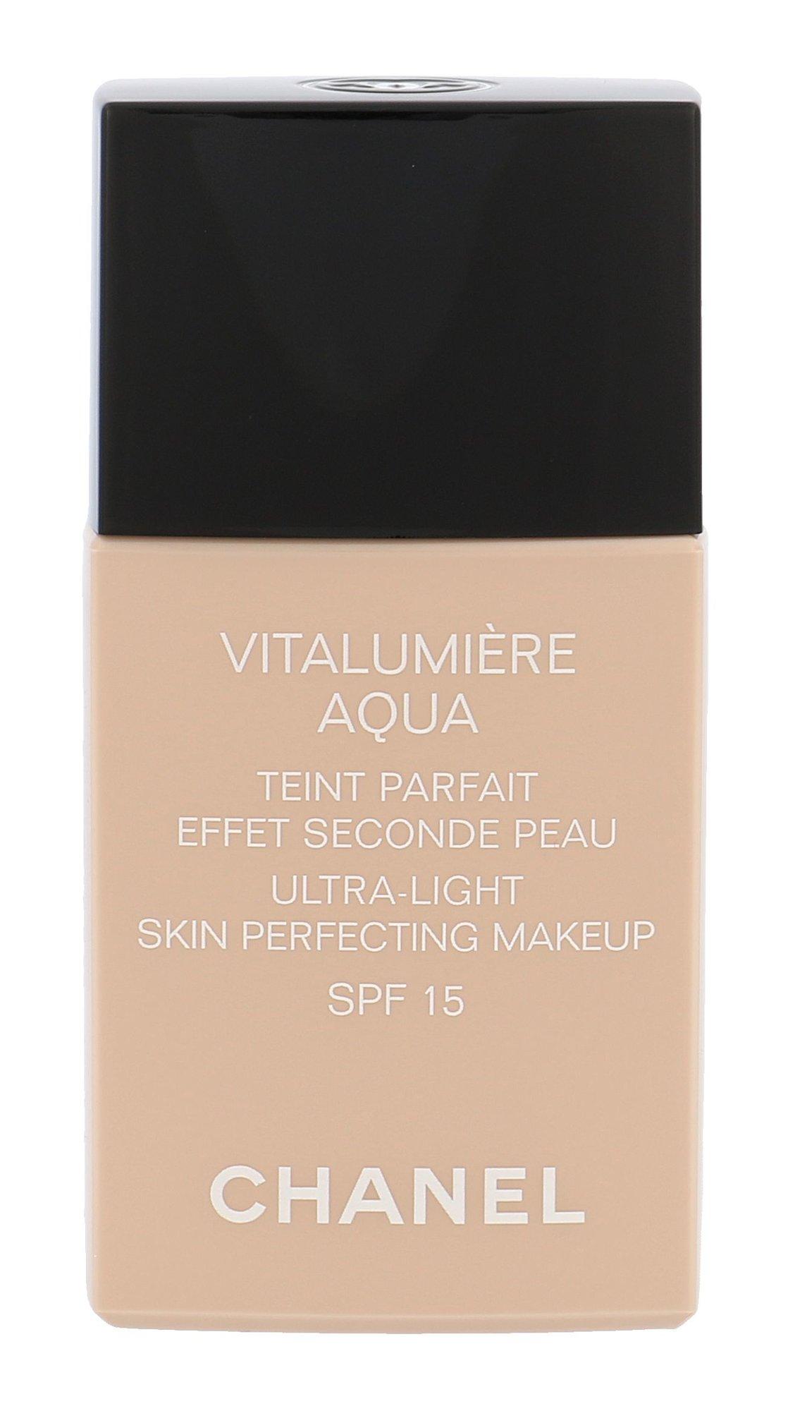Chanel Vitalumiere Aqua Cosmetic 30ml 22 Beige Rosé