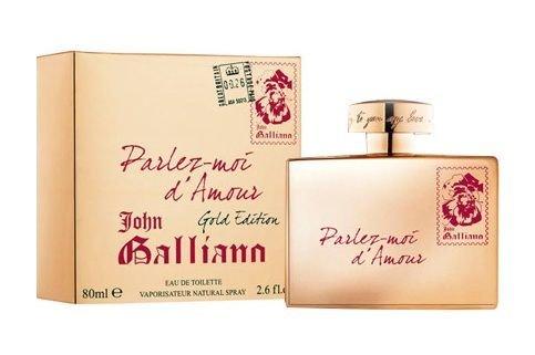 John Galliano Parlez-Moi d´Amour Gold Edition EDT 80ml