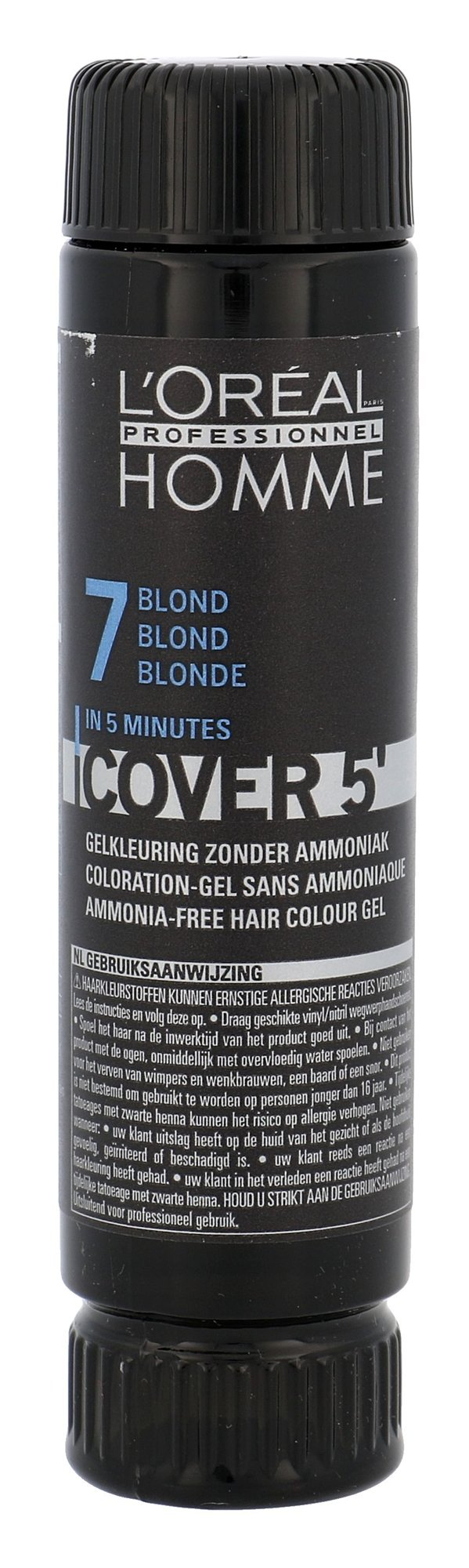 L´Oréal Professionnel Homme Cosmetic 3x50ml 7 Medium Blond