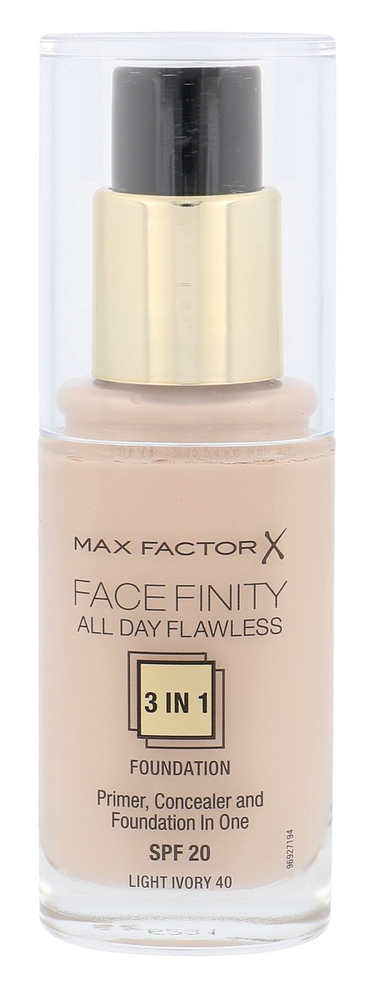 Max Factor Facefinity Cosmetic 30ml 40 Light Ivory
