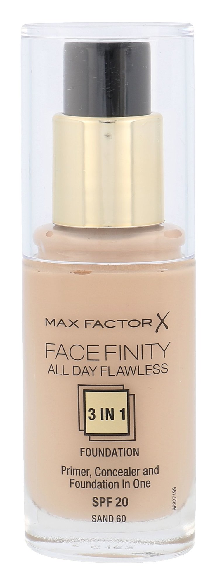 Max Factor Facefinity Cosmetic 30ml 60 Sand