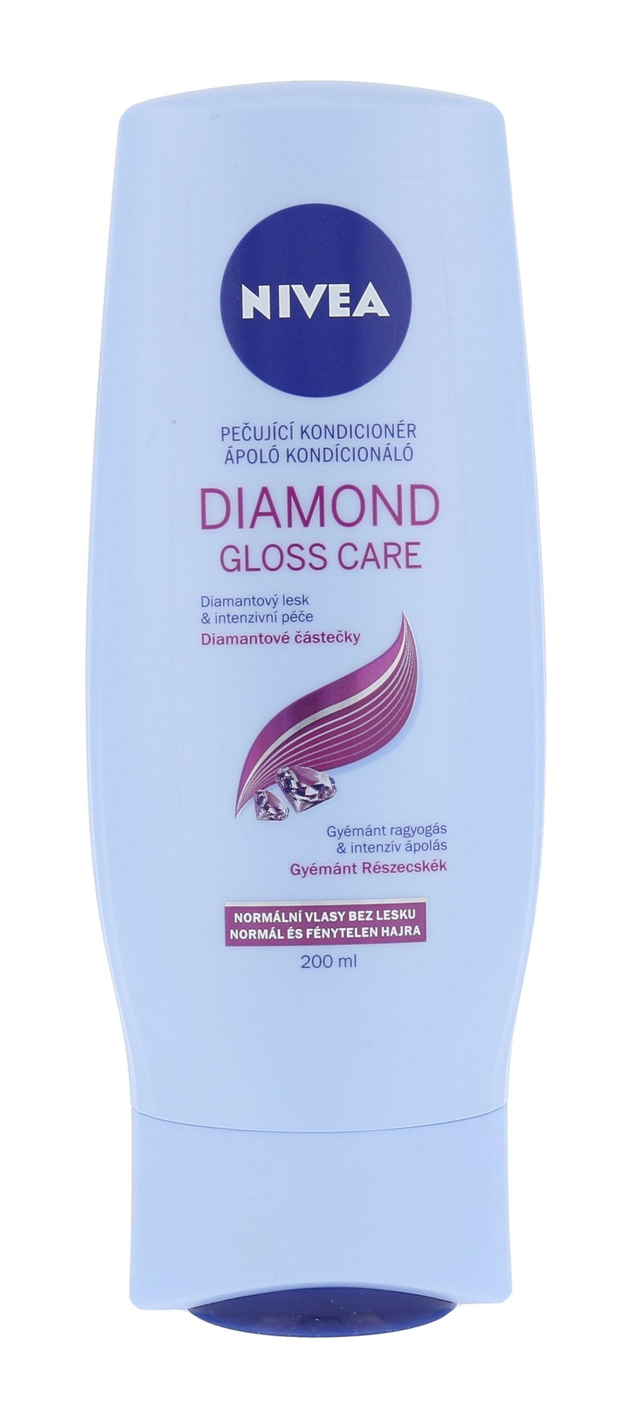 Plaukų kondicionierius Nivea Diamond Gloss Care